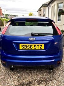 Ford Focus ST-2 Performance Blue