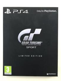 Gran Turismo Limited Edition PS4 game