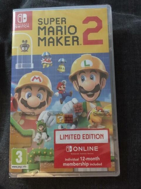 Super Mario Maker 2 Limited Edition (comes w/ 12 months switch online)  Nintendo Switch | in Portadown, County Armagh | Gumtree