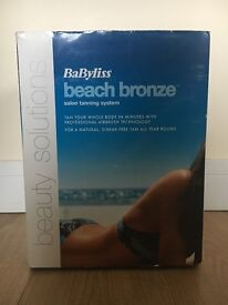 "Babyliss ""beach bronze"" salon tanning system"