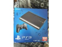 500GB super slim PS3 console bundle with PS3 exclusive games