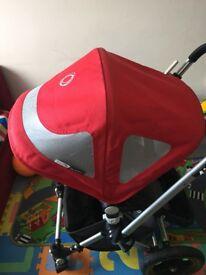 Bugaboo red hood