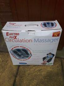 Electronic massage pulse appliance