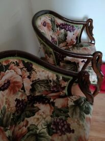 Pair of beautiful, stylish chairs