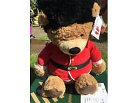 NEW Queens Guard Royal teddy bear size Large