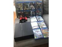 Sony PlayStation 4 with 2 controllers bundle