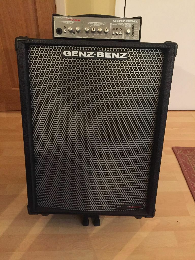 genz benz shuttle 6 0 210t bass combo amplifier with soft cover in stockport manchester. Black Bedroom Furniture Sets. Home Design Ideas