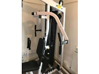 Body solid gexm2000 multi gym with leg attachment