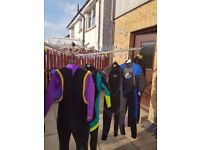 I am selling 6 wet suits as a job lot. £150