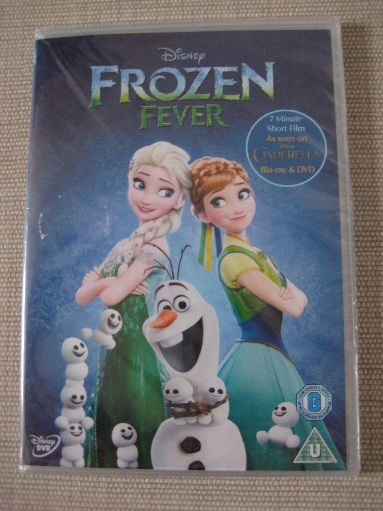 brand new sealed disney frozen fever dvd anna elsa