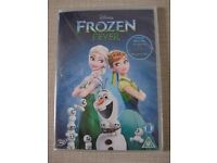 BRAND NEW / SEALED - Disney Frozen Fever DVD - Anna Elsa Olaf Short Mini Movie