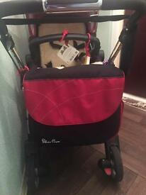 Silver cross buggy & carrycot