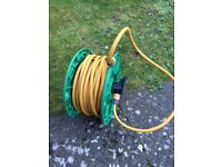 Hozelock 30m hose with reel