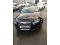Audi A3 Lovely car needs mot but selling cheap always passed had new rear brakes good runner
