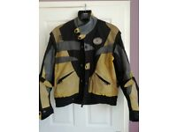 Swift Textile Motorcycle Jacket used. Large size.