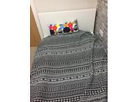 Ikea malm single bed frame