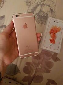 ** IPhone 6s Rose Gold 16GB