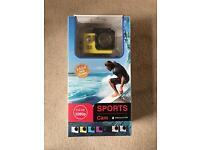 1080p Waterproof Sports Cam Brand New