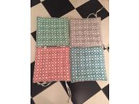 Set of 4 Outdoor Seat Cushions