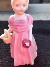 Small Royal Doulton figure called Tinkle Bell