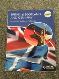 Britain & Scotland and Germany higher history