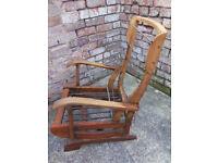 Vintage rocking chair - restoration project