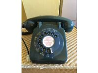 4 vintage 60s and 70s telephones