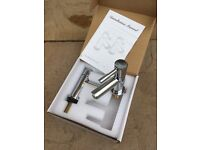New boxed basin taps