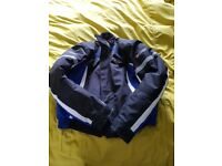 SPADA TEXTILE M/BIKE JKT BLACK/BLUE RRP £99.99