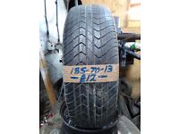 185-70-13 Sime Tyres 86S 5mm Part Worn Tyre