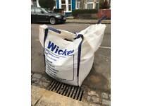 Fine Sharp Sand 1/2 Jumbo Bag