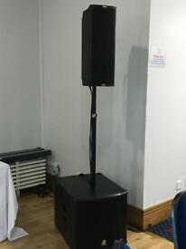 dB Technologies IG2T Sub 15h Active Sound System PA powered Singer RCF Yamaha FBT Alto EV Band DJ