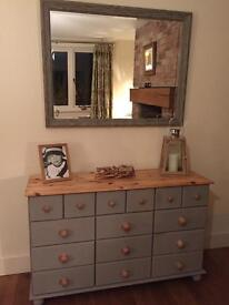 Pine sideboard chest of Drawers