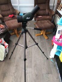 Luger XM 70-1236x50 spotting scope