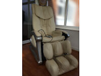 Massage Chair, Sterling; mid to high level performance range, heat pads, USB drive for music