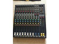 Soundcraft EPM8 Analogue Mixing Desk - instructions and kettle lead included