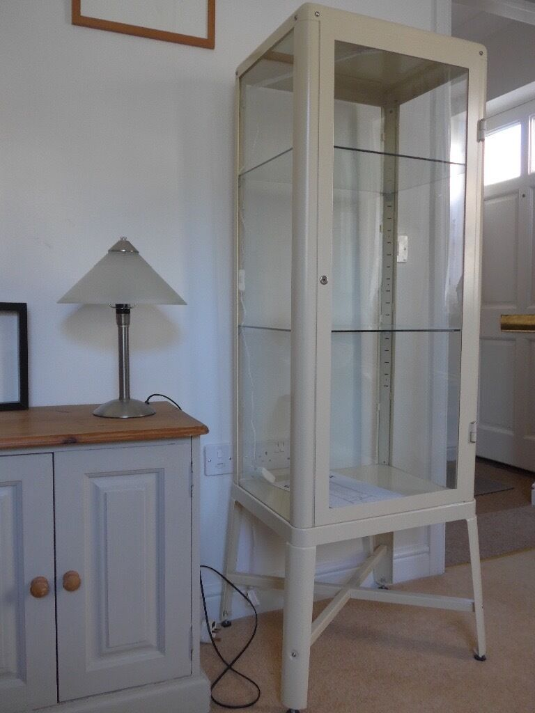Ikea Fabrikor display cabinet. | in Shepton Mallet, Somerset | Gumtree