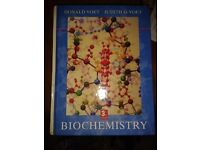 Biochemistry, Voet and Voet (3rd edition) - hardback, great condition