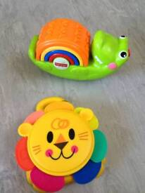 Baby stacking toys great condition