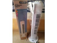 Oscillating Tower Fan for sale + small Fan as a present