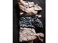 Age 7-8 girls jackets/raincoats