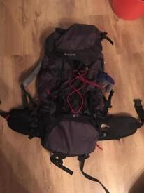 2 x Eurohike hydro 60+10 hiking bag backpack