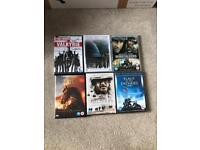 World War 2 & 1 DVD's, Valkyrie, Thin Red Line, War Horse etc