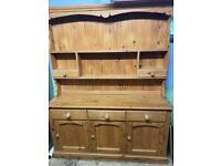 Pine dresser - ideal for refurbishment
