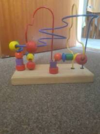 Toy Wooden beads