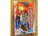 Special edition Pokemon Monopoly Board Game