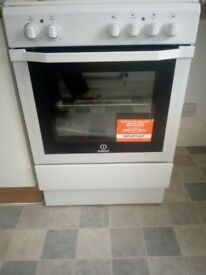 Brand new never used indesit electric cooker