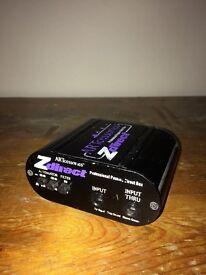 Z-line passive DI box