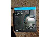Ps4 afterglow headset brand new in the box Playstation 4