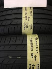185/65/15 88H FALKEN ZIEX PAIR OF 2 TYRES